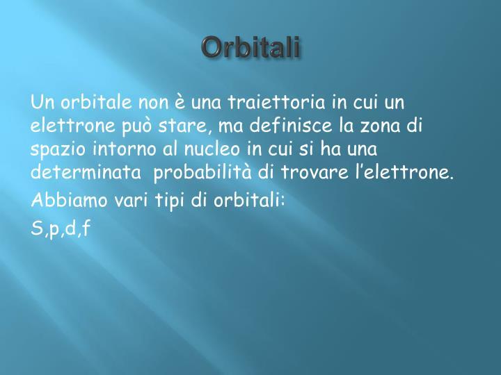 Orbitali