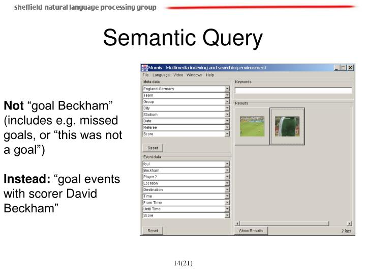 Semantic Query