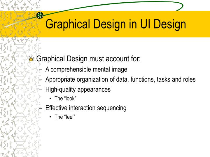 Graphical design in ui design1