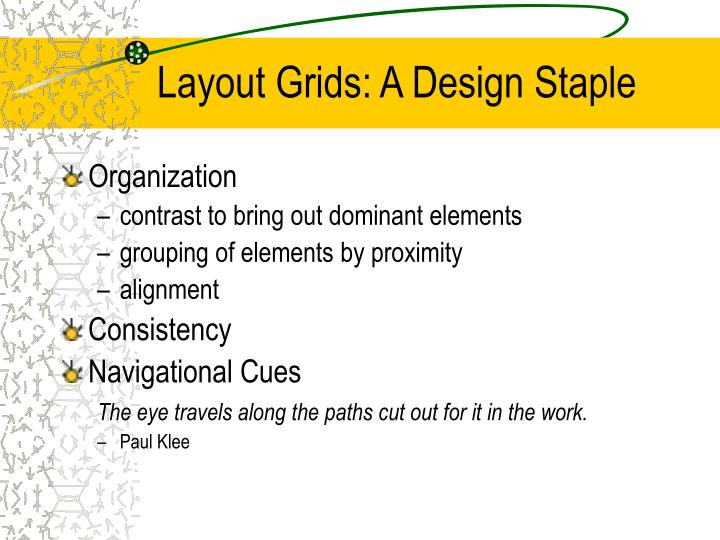 Layout Grids: A Design Staple