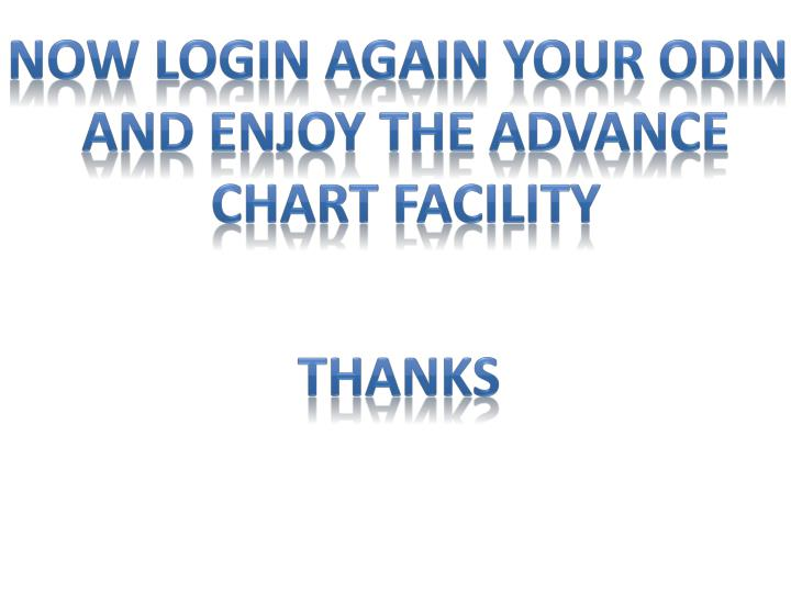 Now login again your odin