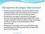 manajemen keuangan internasional