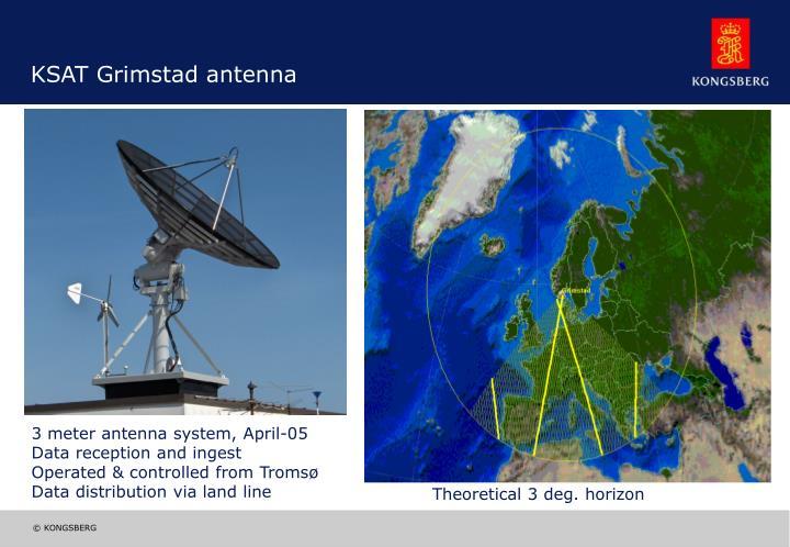 KSAT Grimstad antenna