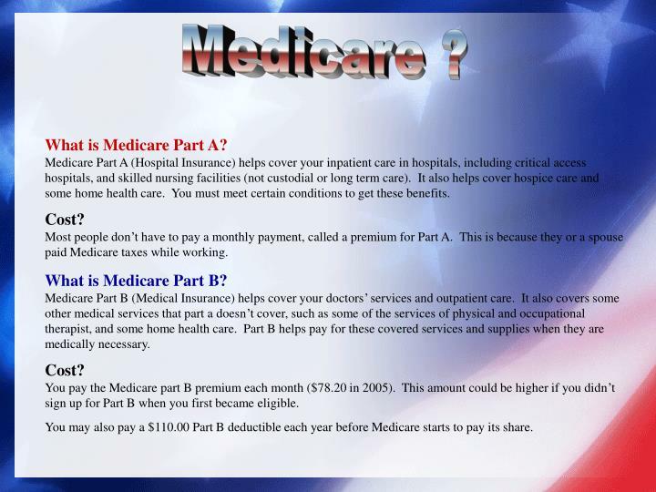 Medicare ?