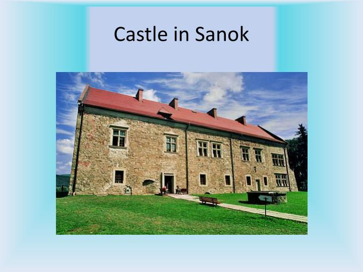 Castle in Sanok