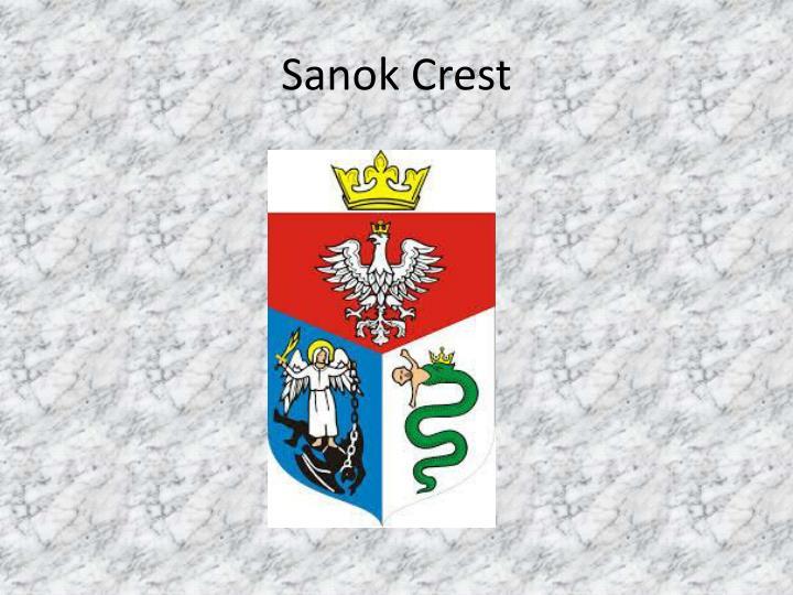 Sanok Crest