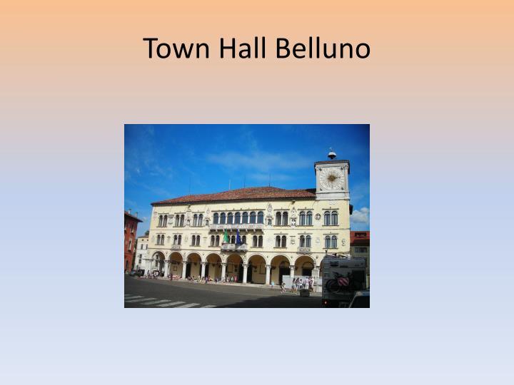 Town Hall Belluno