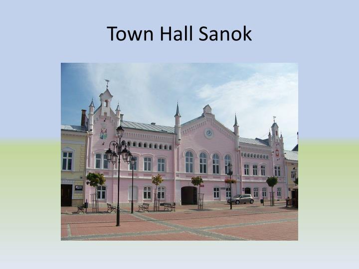 Town Hall Sanok