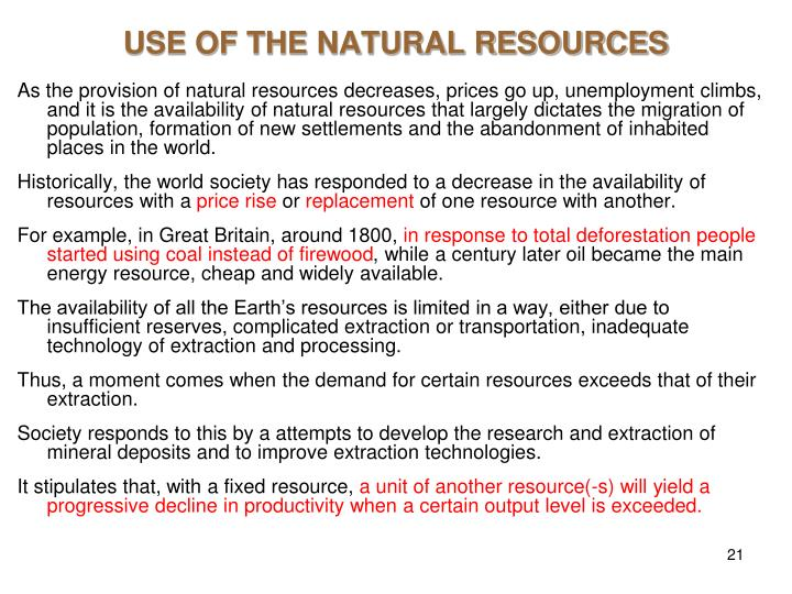 utilization of natural resources We work to build partnerships, capacity and wise decision making for fair and  sustainable use of natural resources, with a focus on local control.