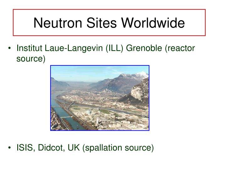 Neutron Sites Worldwide