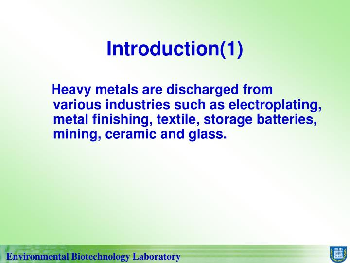 Introduction(1)
