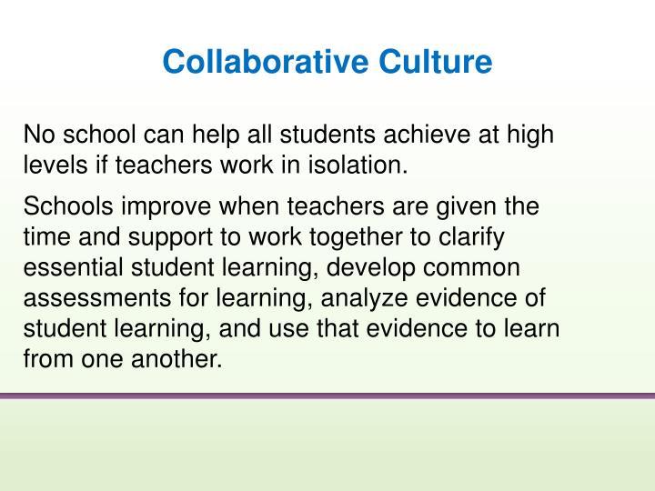 Collaborative Culture