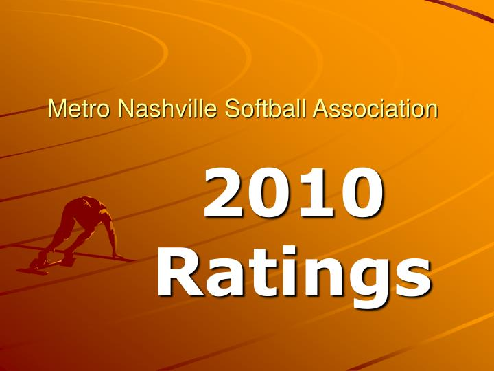 Metro Nashville Softball Association