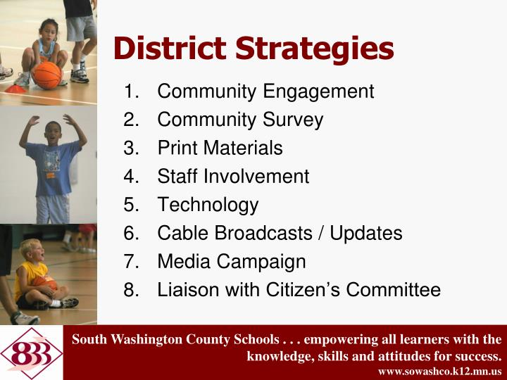 District Strategies