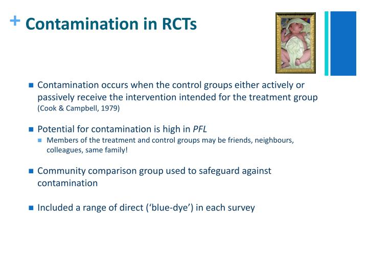 Contamination in RCTs
