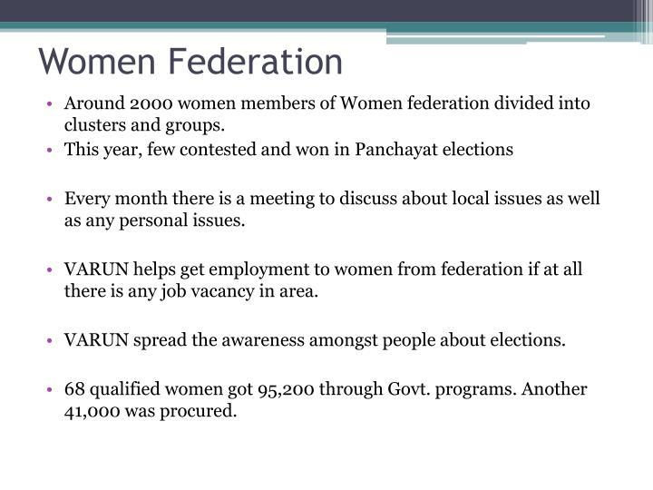 Women Federation