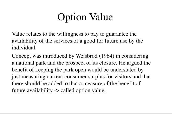 Option Value