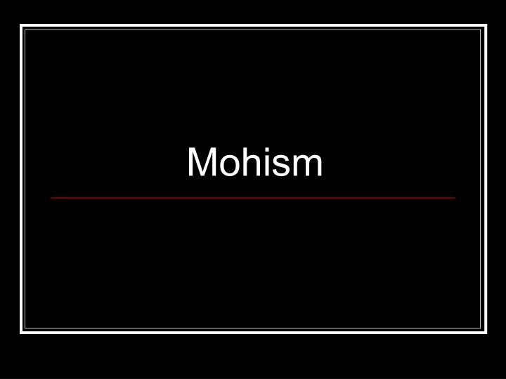 Mohism