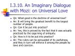 i 3 10 an imaginary dialogue with mozi on universal love