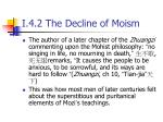 i 4 2 the decline of moism3
