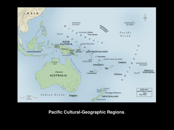 Pacific cultural geographic regions