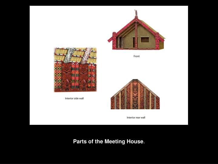 Parts of the Meeting House
