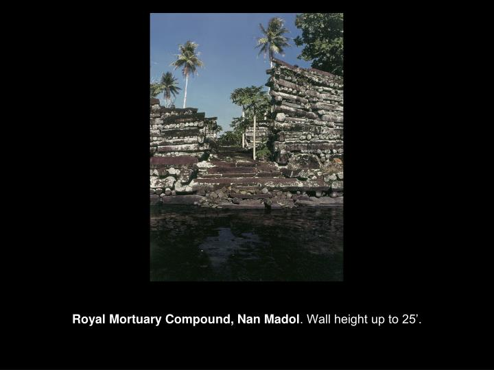 Royal Mortuary Compound, Nan Madol