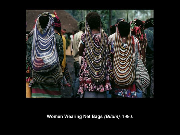 Women Wearing Net Bags