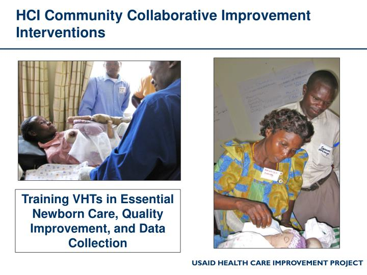 HCI Community Collaborative Improvement Interventions