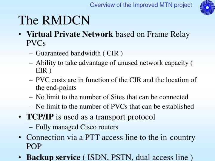 The RMDCN