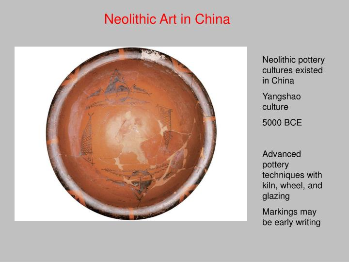 Neolithic Art in China