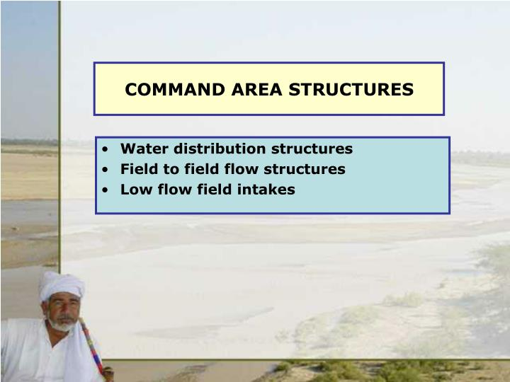COMMAND AREA STRUCTURES