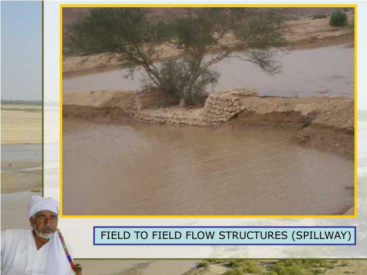 FIELD TO FIELD FLOW STRUCTURE