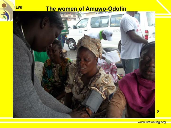 The women of Amuwo-Odofin