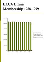 elca ethnic membership 1988 1999