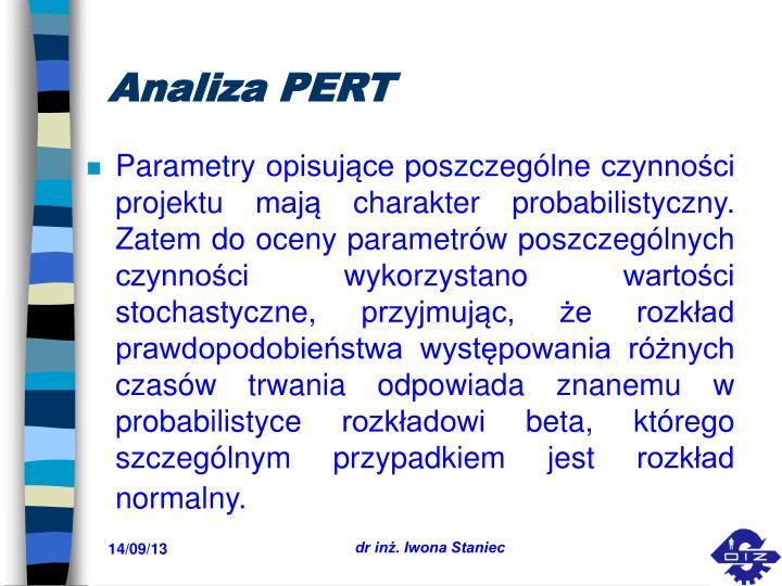 Analiza PERT