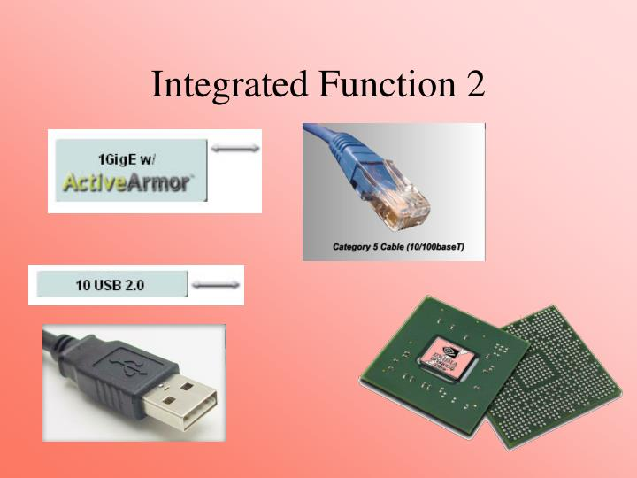 Integrated Function 2