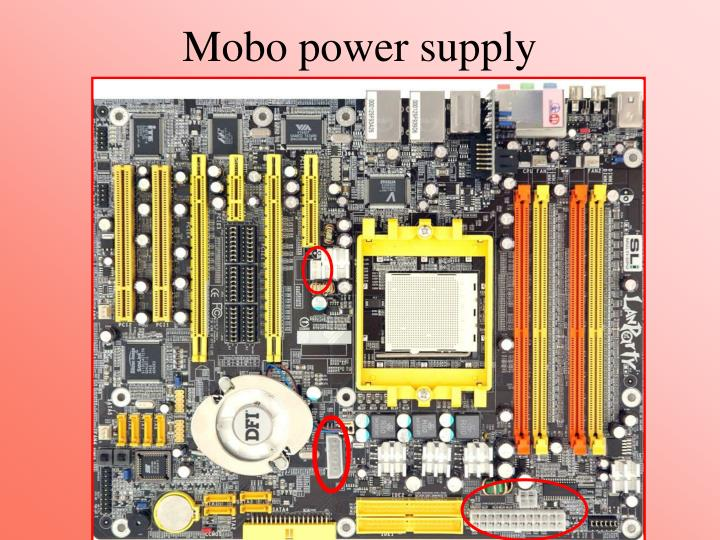 Mobo power supply
