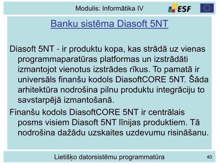 Banku sistēma Diasoft 5NT