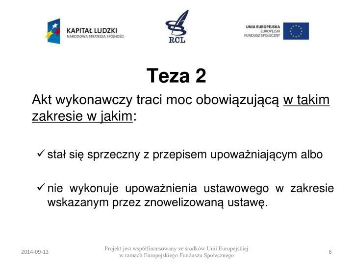 Teza 2