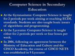 computer science in secondary education1