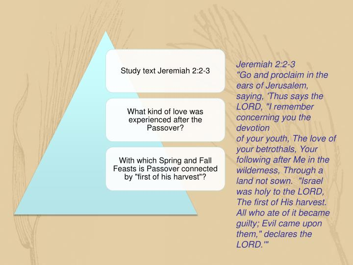 Jeremiah 2:2-3