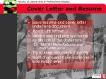 cover letter and resume1