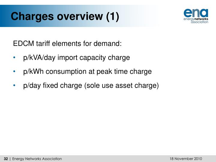 Charges overview (1)