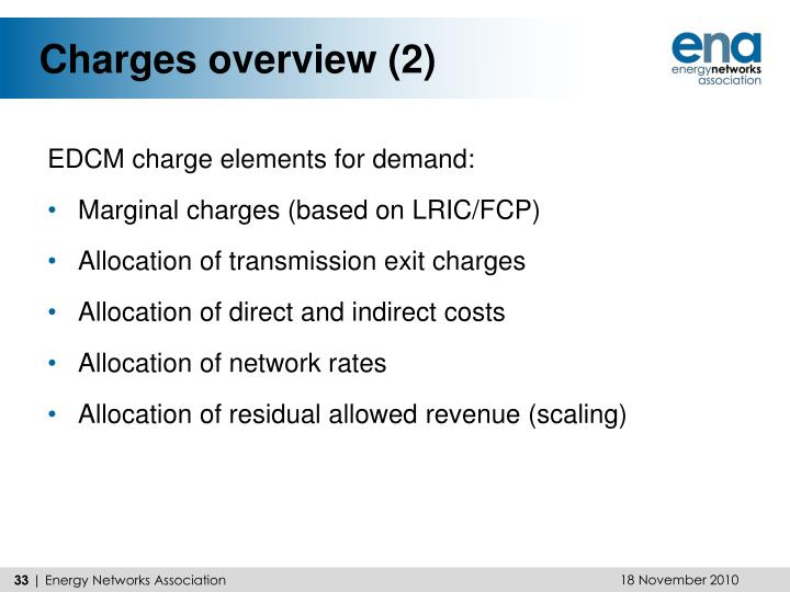 Charges overview (2)