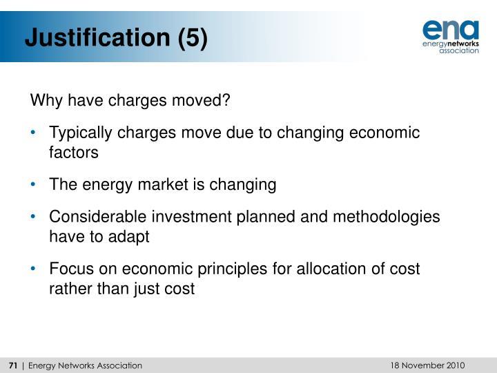 Justification (5)