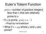 euler s totient function
