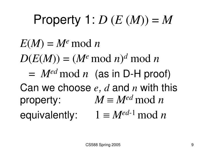 Property 1:
