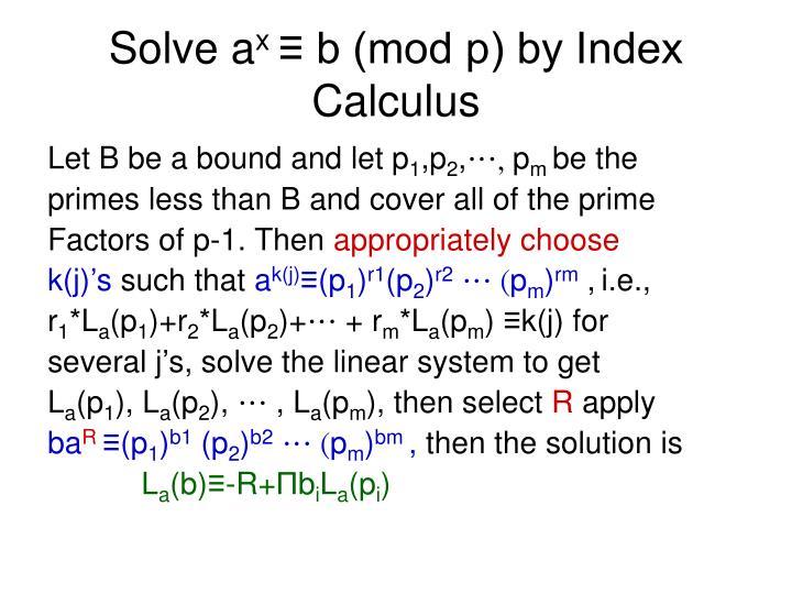 Solve a