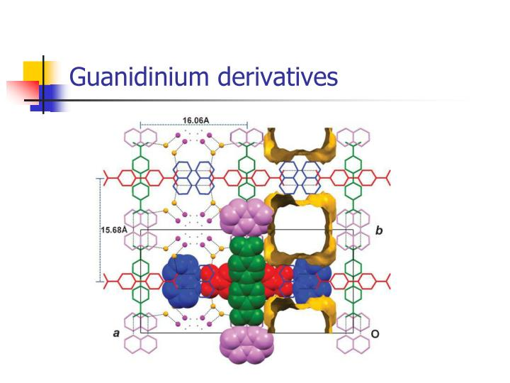 Guanidinium derivatives